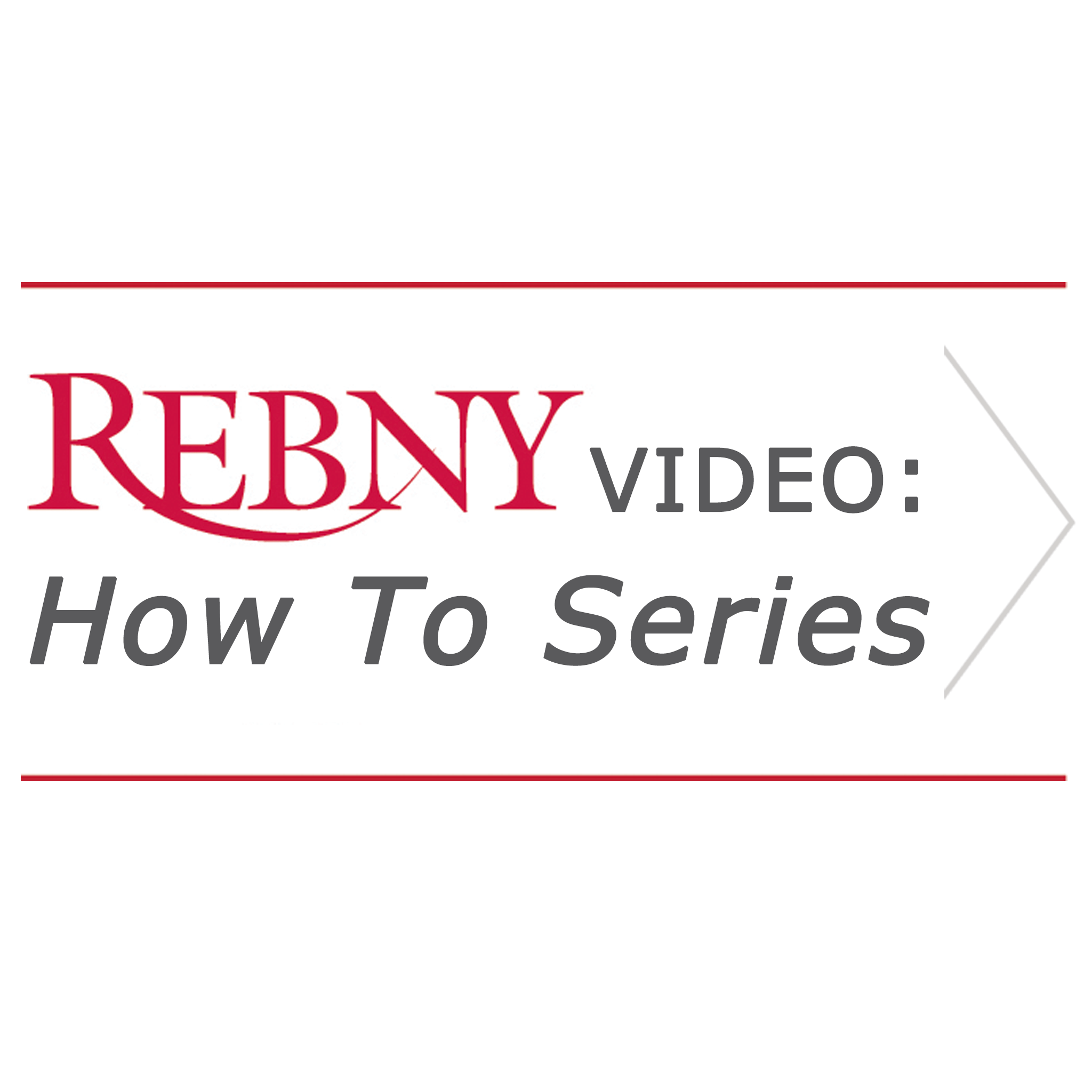 REBNY How To Series