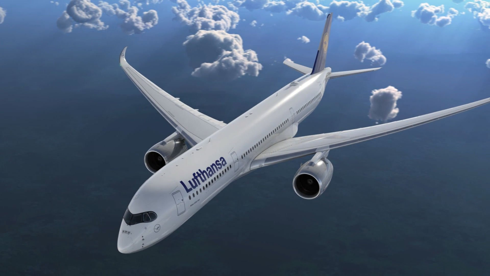 Interior Painting For Home In The Making Lufthansa S First A350 Xwb Airbus Video